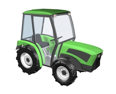 Design produktu traktoru