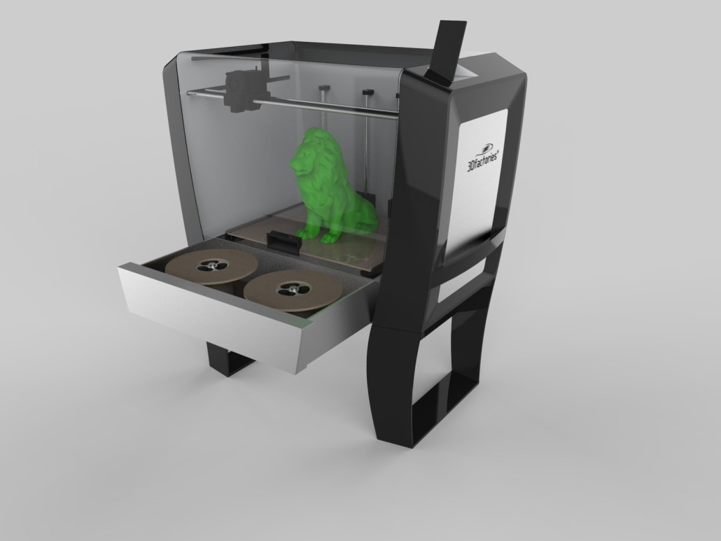 3d printer design adam design 3d printer design software